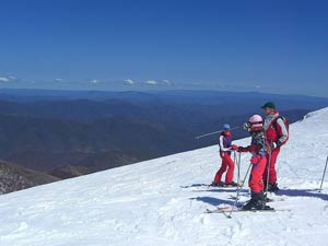 Skiing at Mount Buller