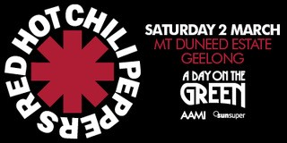 Red Hot Chili Peppers A Day On The Green Poster