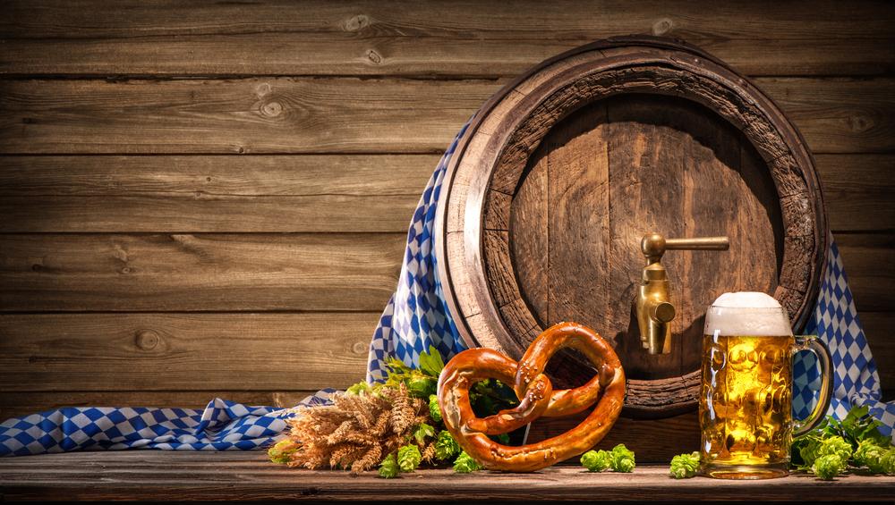 Oktoberfest Pretzel and Stein