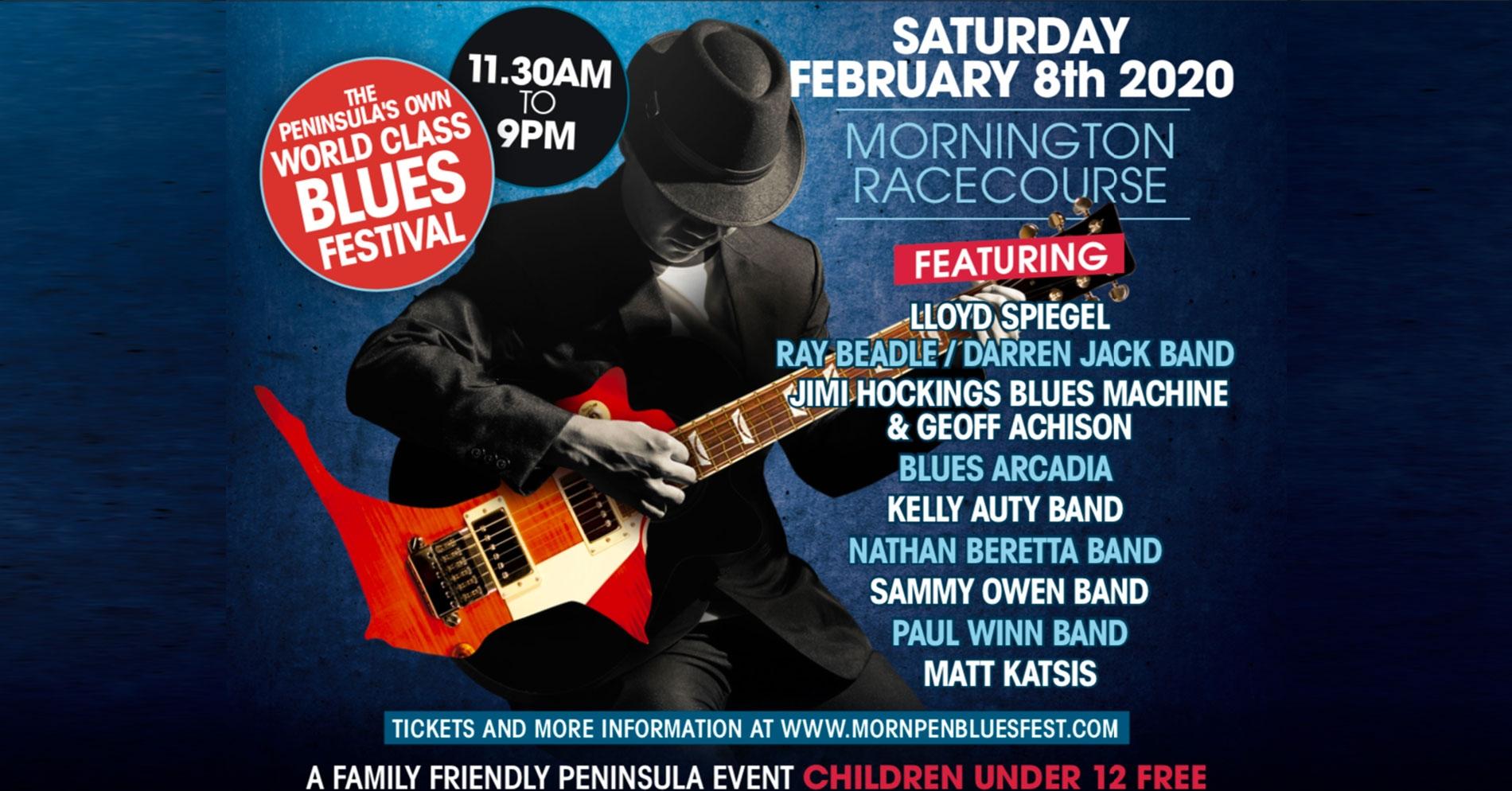 MOTM Mornington Blues Festival