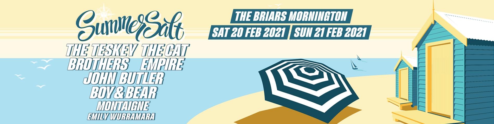 SummerSalt 2021 Poster