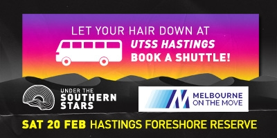 Under the Southern Stars - Hastings - Saturday 20th February 2021