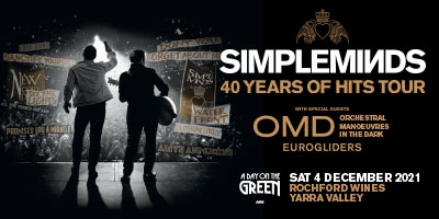ADOTG Simple Minds - Rochford Wines - Saturday 4th December 2021
